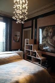 luminaires chambre adulte le chambre adulte le de chevet plafonnier gabriella noir