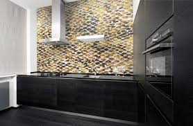 Mosaic Kitchen Backsplash Hydrus Gold Nature Snakeskin Mosaic Kitchen Backsplash Artaic