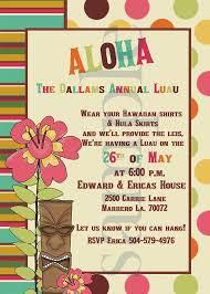 colors free luau birthday invitations party planning agencies