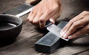 what is the best way to sharpen kitchen knives how to sharpen a knife the manual