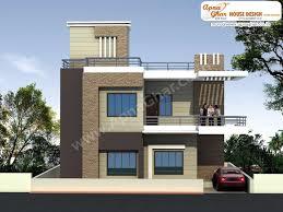 modern duplex house elevations