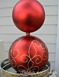 What Is A Topiary Diy Christmas Ornament Topiary Celebrate U0026 Decorate