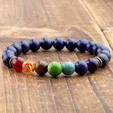 bracelet stone beads images 7 chakra healing balance bracelet with lapis lazuli stone beads jpg