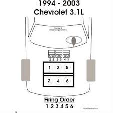 sparkplug wiring diagram for 3 1 chevy lumina fixya
