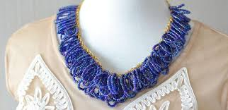 bead tutorial necklace images Beading tutorial how to make an ocean blue seed bead cluster jpg