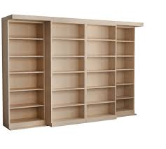 Unfinished Bookshelf Murphy Beds With Bookcases Abbott Library Murphy Bed Wall Bed