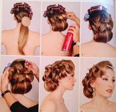 wedding hairstyles step by step instructions 50s wedding hairstyles for long hair google search hair