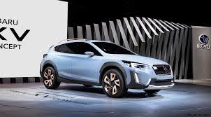 small subaru car geneva debuts 2016 subaru xv concept less hideous more
