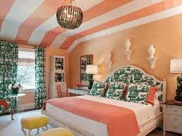 amazing bedroom ideas jet black wall paint light orange wooden