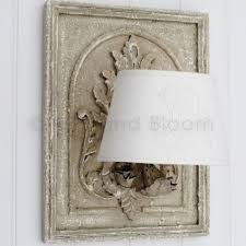 french style wall lights french style wall light with shade bliss and bloom ltd