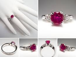 ruby and engagement rings the rosy glow of a ruby engagement ring ruby