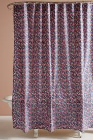 Hawaiian Print Shower Curtains by Liberty For Anthropologie Wiltshire Berry Shower Curtain