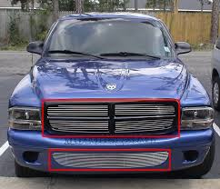 dodge dakota black grill 97 04 dodge dakota durango grill billet grille combo billet
