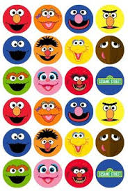 sesame street photo booth props36 by happyfiestadesign on etsy