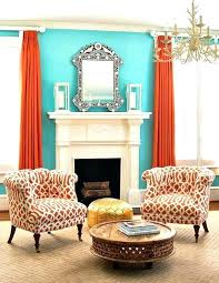Orange And Blue Curtains Orange And Blue Curtains Elkar Club