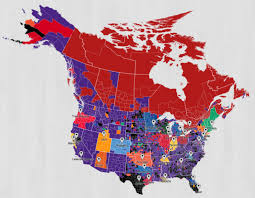 map of nba teams nba fans where are your team s followers