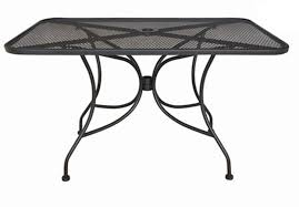 Oval Wrought Iron Patio Table Oval Patio Dining Table In Aged Metal 5670 33 Darlee Elisabeth 9