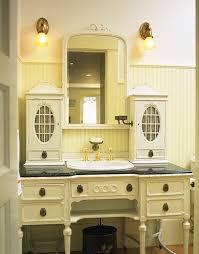 Old Dresser Made Into Bathroom Vanity Desk Made Into Bathroom Vanities And Tiled To Match Provide An