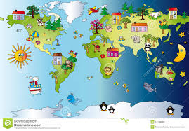 cartoon world map timekeeperwatches