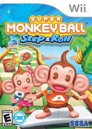 super mario thanksgiving super monkey ball step u0026 roll nintendo wii game thanksgiving