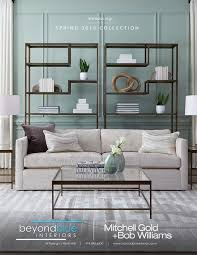 mitchell gold coffee table mitchell gold bob williams spring 2016 collection beyondblue