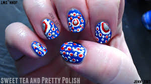 4 of july nail art easy beautify themselves with sweet nails