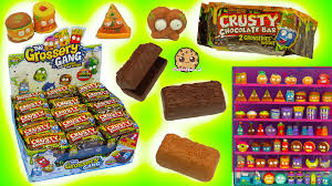full size candy bars halloween grossery gang full box 30 candy bar surprise mystery blind bags of