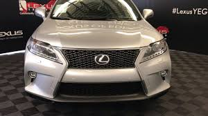 youtube lexus rx 2015 used silver 2015 lexus rx 350 f sport package review red deer