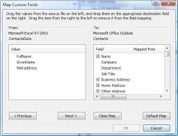 csv format outlook import convert excel data to outlook contacts