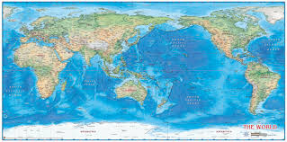map world oceans world map pacific besttabletfor me