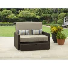 Patio Loveseats Better Homes And Gardens Avila Beach Loveseat Chaise Walmart Com