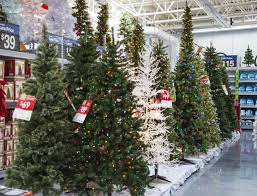 ft artificial trees walmart pre lit tree