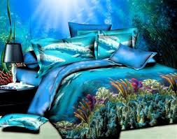 Beach Comforter Sets Blue Comforter Sets Queen Kid Bed Sets Boy 3d Beach Bedding Sets
