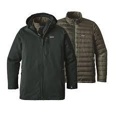 Green Parka Jacket Mens Patagonia Men U0027s Tres 3 In 1 Parka