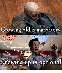 Grow Up Meme - luxury 罎蜩窶ヲ 25 best memes about growing old is mandatory growing up