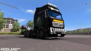 volvo hd trucks volvo fh16 8x4 mod for ets 2