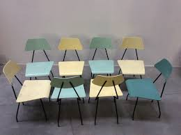 Unterschiedliche Esszimmerst Le Niederländische Mid Century Stühle Von Rob Parry Für Dico 8er Set