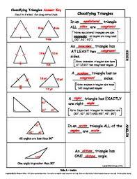 classifying triangles flip n u0027 fold notes by margaret miller tpt