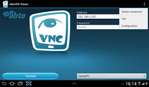 vnc android abtovnc viewer for android remote desktop vnc viewer software