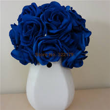 blue roses 100x artificial flowers royal blue roses for bridal bouquet