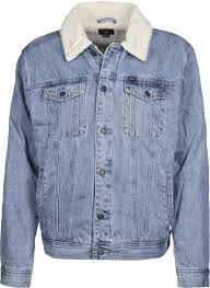 off the chain jeans jacket blue