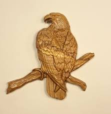 eagle home decor wood wall art eagle wood carving wall hanging rustic home