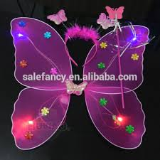 light up fairy wings high quality light up fairy wings colorful cheap price party led