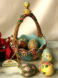 jim shore easter baskets jim shore heartwood creek