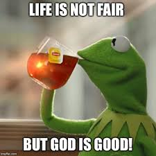 Life Is Good Meme - but thats none of my business meme imgflip