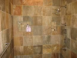 Slate Tile Bathroom Shower Slate Bathroom Remodel Slate Shower Slate And Slate Bathroom