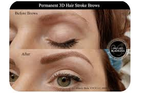 Permanent Makeup Eyebrows Hair Stroke Custom Beaute Esthetics And Wellness Clinic In Western Ny
