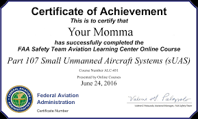 Sle Of Authorization Letter For Certification Of Employment Drone License Step By Step Guide So You Can Make Money