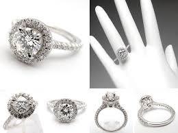 1 carat halo engagement ring engagement rings princess cut halo white gold 2 ifec ci