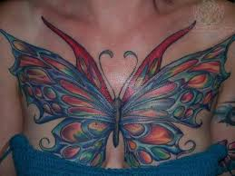 butterfly tattoos on chest images pictures becuo butterfly